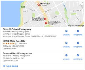 Google Layout maps